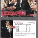 PHIL JACKSON (2) 1995 Hoops #173.  BULLS