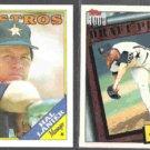 HAL LANIER 1988 Topps #684 + BILLY WAGNER 1994 Topps Draft #209. ASTROS
