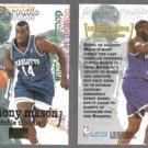 ANTHONY MASON (2) 1997 Skybox Premium Double Trouble #271. HORNETS