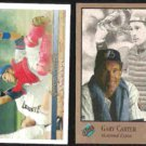 GARY CARTER 1993 Upper Deck #219 + 1992 Studio #53. EXPOS