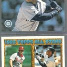 KEN GRIFFEY Jr. 1994 UD CC #340 + 1994 Topps #388. MARINERS