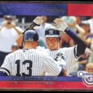 ALEX RODRIGUEZ 2011 Topps Superstar Celebrations Insert w/ Jeter.  YANKEES