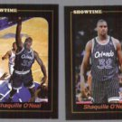 SHAQUILLE O'NEAL (2) Card 1993 Showtime Promos .  ORLANDO - Glossy