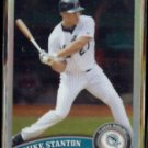 MIKE STANTON 2011 Topps Chrome #85.  MARLINS