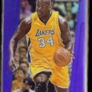 SHAQUILLE O'NEAL 2013 Panini Prism (Blue) #204.  LAKERS