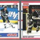 WAYNE GRETZKY 1990 Score #336 + #321.  KINGS