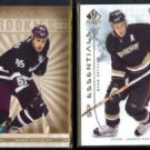RYAN GETZLAF 2005 Parkhurst Rookie + 2009 UD SP Authentic #'d Insert 0677/1999.