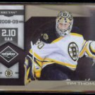 TIM THOMAS 2010 Panini Limited Banner Season #'d Insert 150/199.  BRUINS