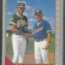 EARL WEAVER + Pat Dobson 1990 Pacific Senior League #219.  ORIOLES