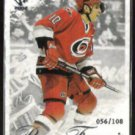 RON FRANCIS 2001 Pacific Private Stock #'d Insert 056 / 108.  HURRICANES