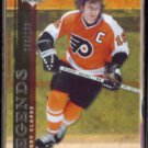 BOBBY CLARKE 2007 UD Artifacts Legends #'d Insert 063/100.  FLYERS