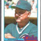 DON ZIMMER 1989 Topps #134.  CUBS