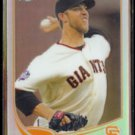 MADISON BUMGARNER 2013 Topps Chrome Refractor #37.  GIANTS