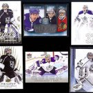JONATHAN QUICK (6) Card Lot (2009 - 2014) w/ Silver Sig.+  KINGS