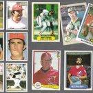Early 80's MLB (11) Card Lot in Nice Shape w/ HOF / STARS