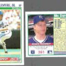 MEL STOTTLEMYRE Jr. (2) 1991 Score #361.  ROYALS