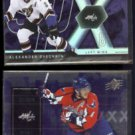 ALEXANDER OVECHKIN 2007 UD SPX #64 + 2009 UD SPX #22.  CAPITALS