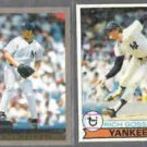 ANDY PETTITTE 2000 Topps #260 + Goose Gossage 1979 Topps #225.  YANKEES