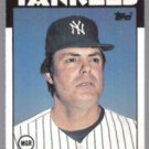 LOU PINIELLA 1986 Topps Traded #86T.  YANKEES