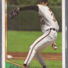 MIKE MUSSINA 1994 Topps Gold Insert #598.  ORIOLES