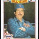 DAVEY JOHNSON 1988 Topps All Star Glossy #12 of 22.  METS