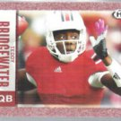TEDDY BRIDGEWATER 2014 Sage Hit Foil Rookie #5.  LOUISVILLE