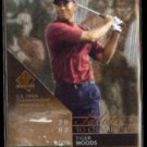 TIGER WOODS 2003 UD SP Authentic #'d Insert 1239/2002.  Salute to Champions