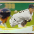 GERRIT COLE 2013 Topps Chrome Refractor Rookie #210.  PIRATES