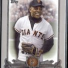 WILLIE MAYS 2013 Topps (The ELITE) Insert #TE-15.  (Thick Stock)  GIANTS