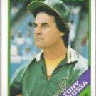 TONY LaRUSSA 1988 Topps #344.  A's