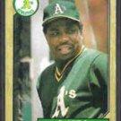 DUSTY BAKER 1987 Topps #565.  A's
