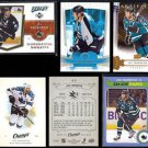 JOE THORNTON (6) Card Lot (2006 - 2009) w/ Insert.  SHARKS