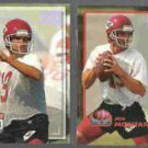 JOE MONTANA 1993 Power #200 + 1993 Power Moves #PM10.  CHIEFS