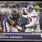 MICHAEL STRAHAN 2008 Stadium Club 1st Day Issue #'d Insert 1031/1499.  NYG