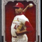BOB GIBSON 2013 Topps (The Greats) Insert #TG-15.  (Thick Stock)  CARDS