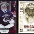 ROBERTO LUONGO 2010 Panini Certified #'d Insert 318/999 + 2008 In The Game.  VAN