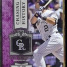 TROY TULOWITZKI 2013 Topps Chasing History Insert #CH97.  25 HR's  ROCKIES