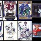 ROBERTO LUONGO (8) Card Lot (2007 - 2014) w/ (2) Silver Sig.+  CANUCKS