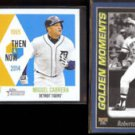 ROBERTO CLEMENTE 2014 Topps Then/Now w/ M. CABRERA + 2001 Golden Moments