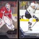 BRADEN HOLTBY 2013 UD Black DIamond + OVECHKIN 2005 UD Rookie Class.  CAPS