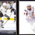 ALEXANDER OVECHKIN 2005 UD Rookie Class #2 + 2010 UD SP Authentic #31.  CAPS