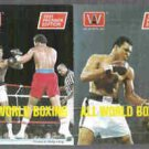 MUHAMMAD ALI 1991 AW Sports Ad Booklet Insert (2) Photos