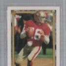 JOE MONTANA 1992 Topps GOLD Graded (8.5 Beckett) Cen9.5, Crn8.5, Edg8.5, Sur9.