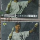DEREK JETER 1994 UD Electric Diamond RC Insert w/ sister card.  YANKEES