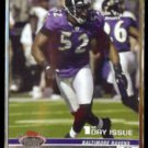 RAY LEWIS 2008 Stadium Club 1st Day Issue #'d Insert 0558/1499.  RAVENS