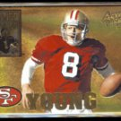 STEVE YOUNG 1995 Pinnacle Action Packed (PROMO) Armed Forces Insert #AF4.  49ers