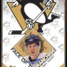 SIDNEY CROSBY 2009 UD Face of the Franchise Insert #FF1.  PENS