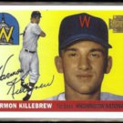 HARMON KILLEBREW 2001 Topps Reprint Stamp #124 / #24 of 450.  TWINS