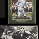 BABE RUTH 2011 Topps Gypsy Queen HR Heroes Insert + 1995 Megacards (The Kid)  NYY