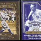 LOU GEHRIG 2011 Topps Gypsy Queen Great Ones Insert + ALS Florida The Iron Horse.  NYY